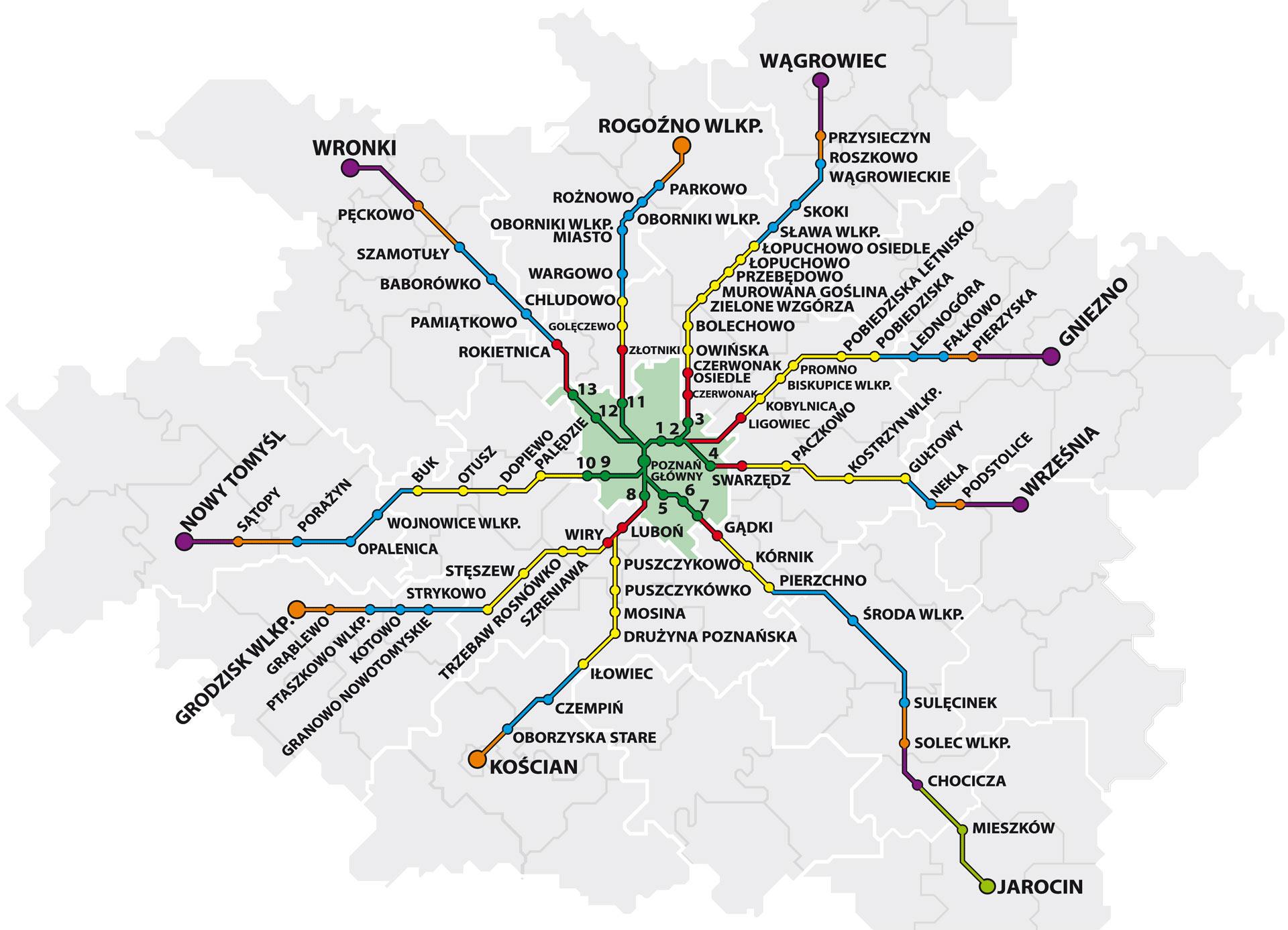 mapa połączeń BTK